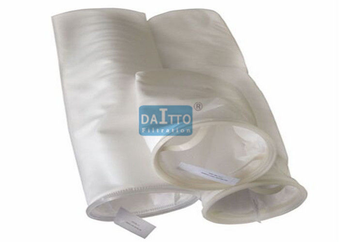 5 10um PP Water Filter Bag Chemical Resistant For Solvent Based Coatings