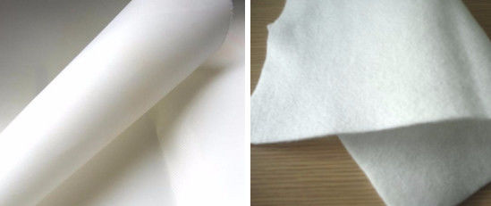 Acid Alkali Resistance Polyester Filter Cloth Normal Temperature Flue Gas Filtration